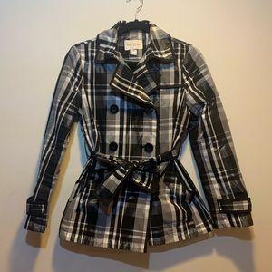 White house black market rain jacket